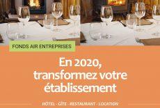 Transformez votre établissement grâce au Fonds Air Entreprises